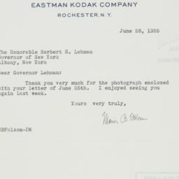 Letter : 1935 June 28