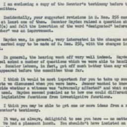 Letter : 1954 June 30