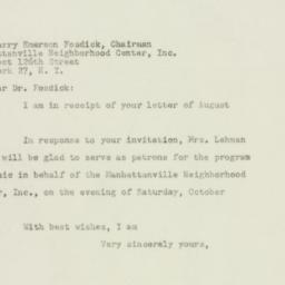 Letter : 1948 August 19