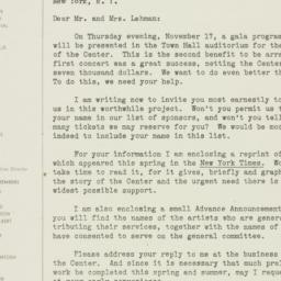 Letter : 1949 June 15