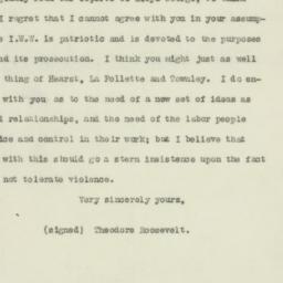 Letter : 1918 January 18