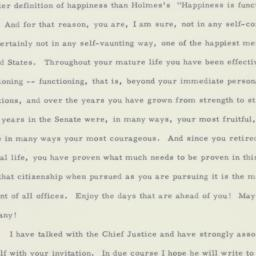 Letter: 1958 March 27