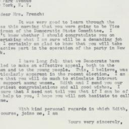 Letter : 1957 March 13