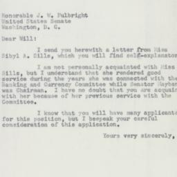 Letter : 1954 December 26