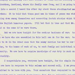 Speech: 1942 May 5