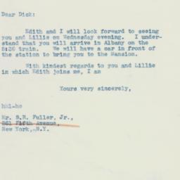 Letter : 1942 August 1