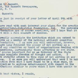 Letter : 1941 April 22