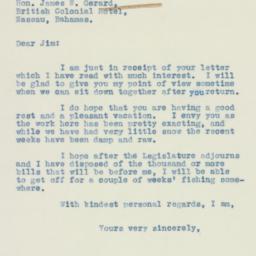 Letter: 1938 February 24