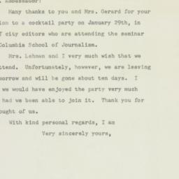Letter : 1948 January 27
