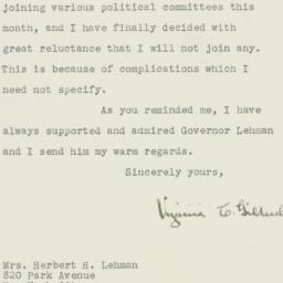 Letter : 1946 October 15