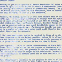 Letter: 1950 July 25