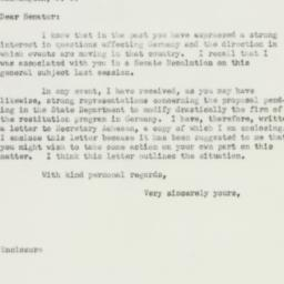 Letter: 1951 August 29