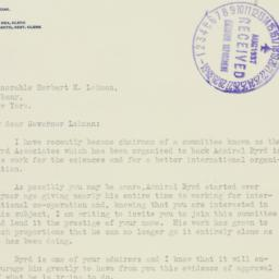 Letter : 1937 August 16