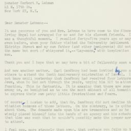 Letter : 1958 June 11
