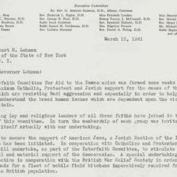Letter : 1941 March 12