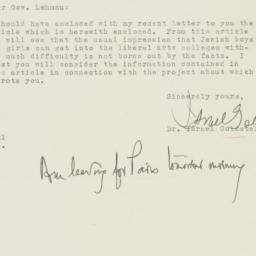 Letter : 1946 August 1