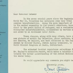 Letter: 1947 February 20