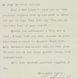 Letter : 1935 September 4