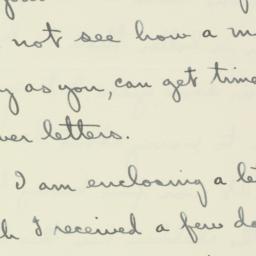 Letter : 1936 September 7