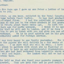 Letter : 1942 October 13