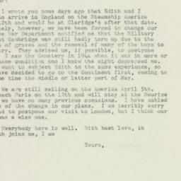 Letter : 1949 March 25