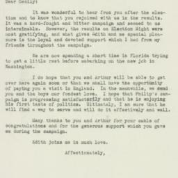 Letter : 1949 November 28