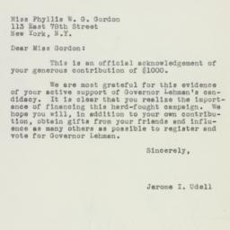 Letter : 1949 October 10