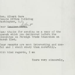Letter : 1955 March 26