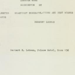 Letter : 1958 August 9