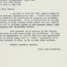 Letter : 1955 March 10