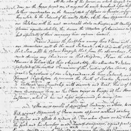 Document, 1779 August 04