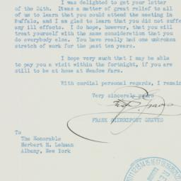 Letter : 1938 August 26