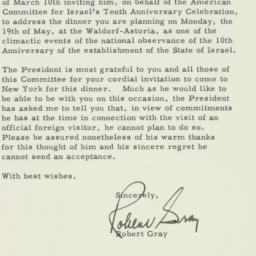 Letter : 1958 March 21