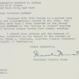 Letter : 1948 May 21