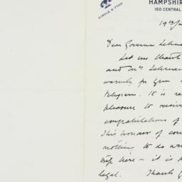 Letter : 1941 June 19