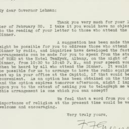Letter : 1939 February 23