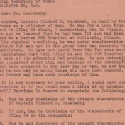 Letter : 1945 February 20