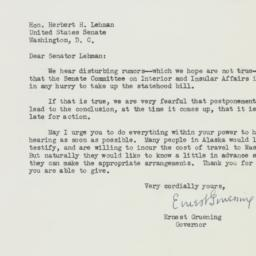 Letter: 1950 March 10