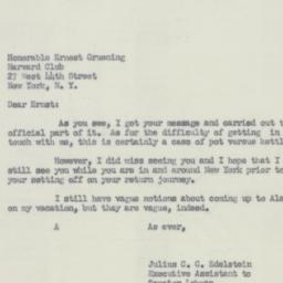 Letter: 1951 October 16