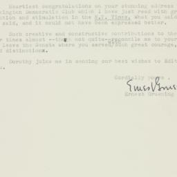 Letter: 1957 January 19