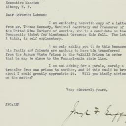 Letter : 1934 July 9