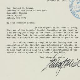 Letter: 1937 October 19