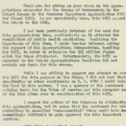 Letter: 1951 August 30