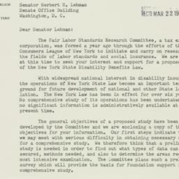 Letter: 1956 March 16