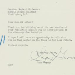 Letter : 1950 May 5
