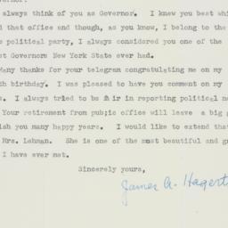 Invitation: 1956 October 8