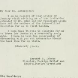 Letter: 1943 January 20