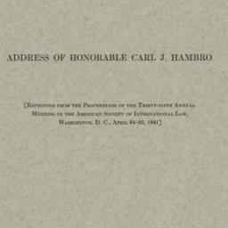 Pamphlet : 1941 April 26