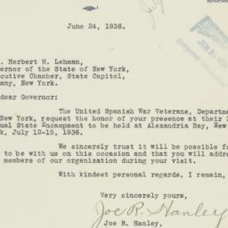 Letter : 1936 June 24