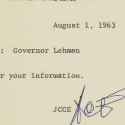 Note : 1963 August 1